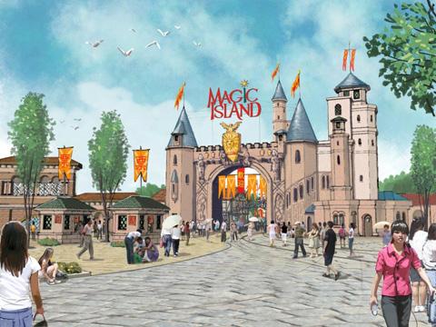 Vertex Productions Portfolio Magic Island Theme Park